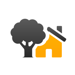 House and a tree icon