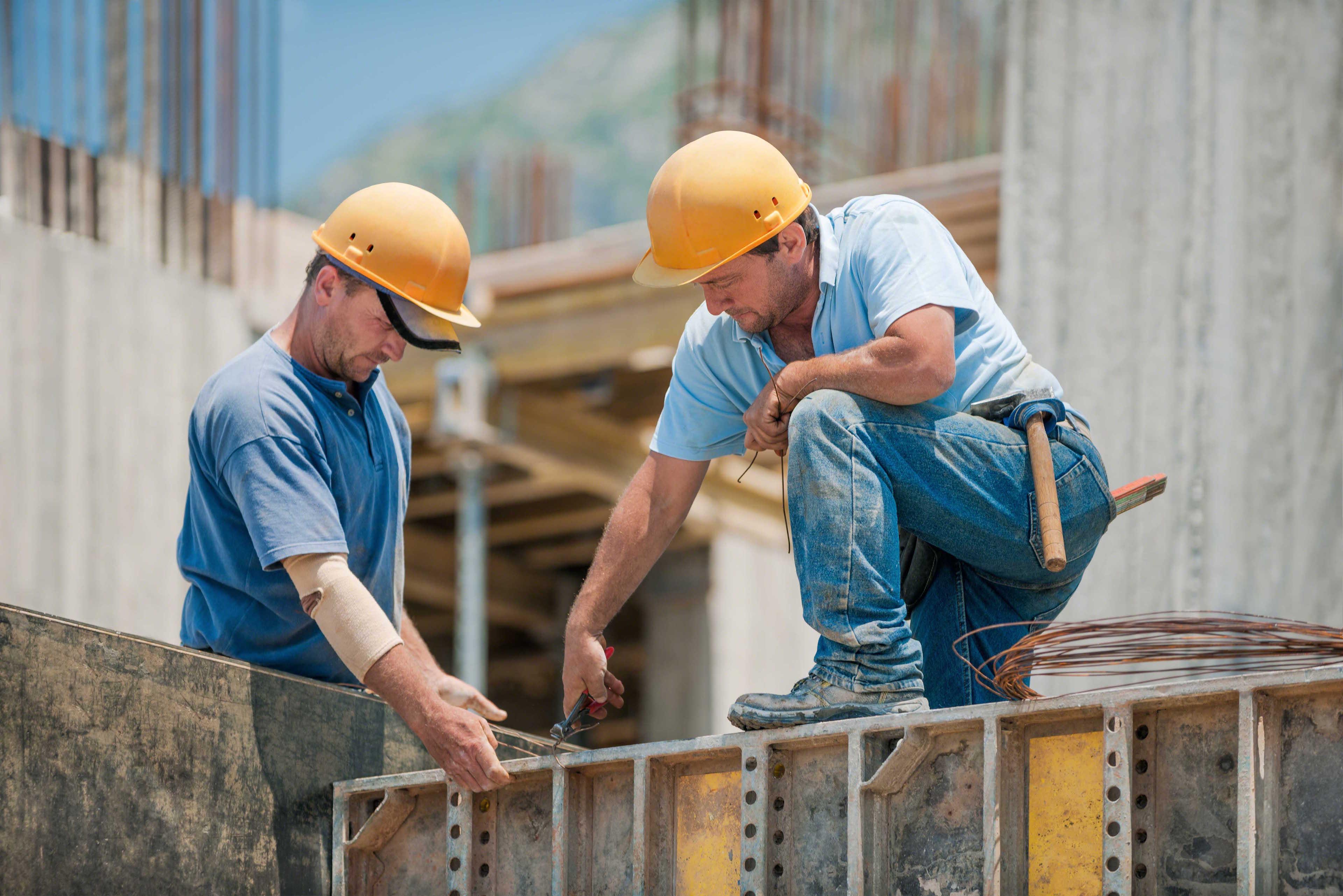 Trabajadores de la construcción 2