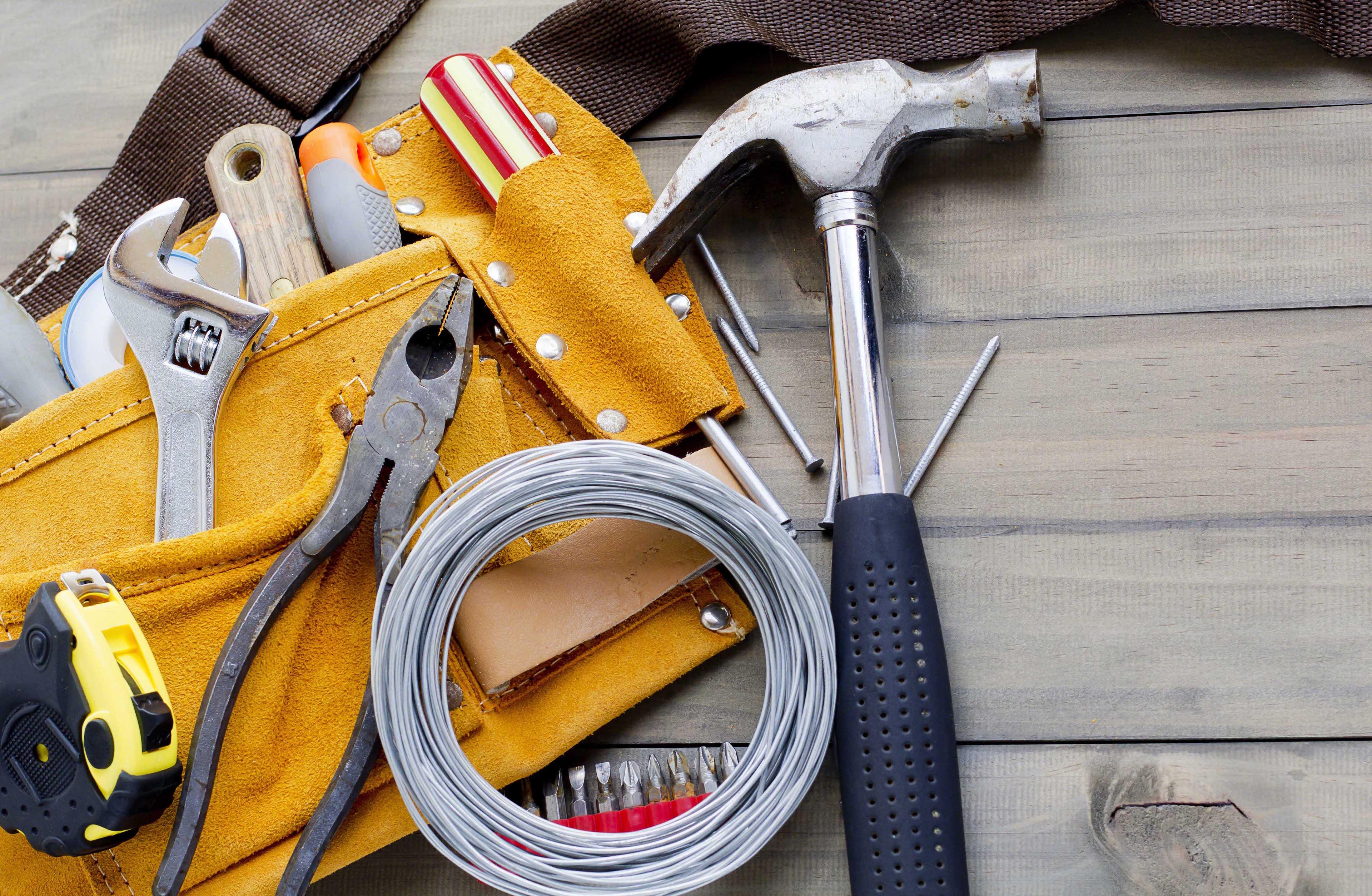 Tool Belt & Hammer